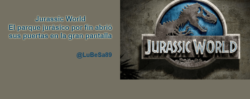 jurasic world parque jurasico estreno