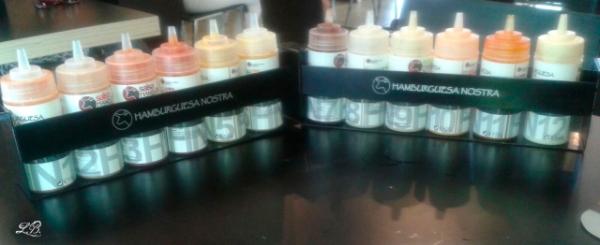 12 salsas Hamburguesa Nostra