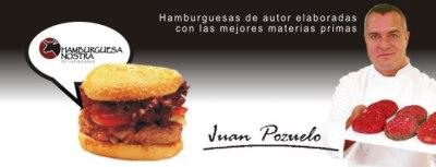 Hamburguesa Nostra Juan Pozuelo