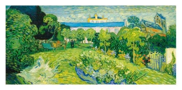 le jardin de daubigny van gogh 1890