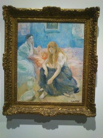 Dos Muchachas. Morisot