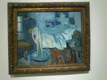 La habitación Azul. Picasso