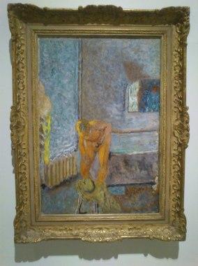 Desnudo en un interior. Bonnard