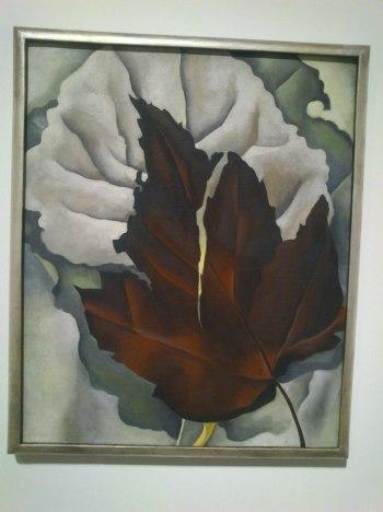 Motivo de hojas. O'Keefe