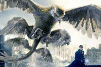 El Ave del trueno Thunderbird Animales fantásticos