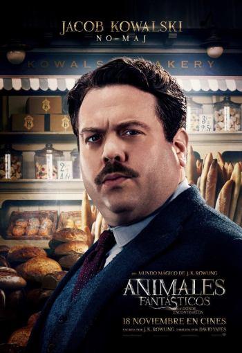 Jacob Kowalski Dan Fogler Animales fantásticos
