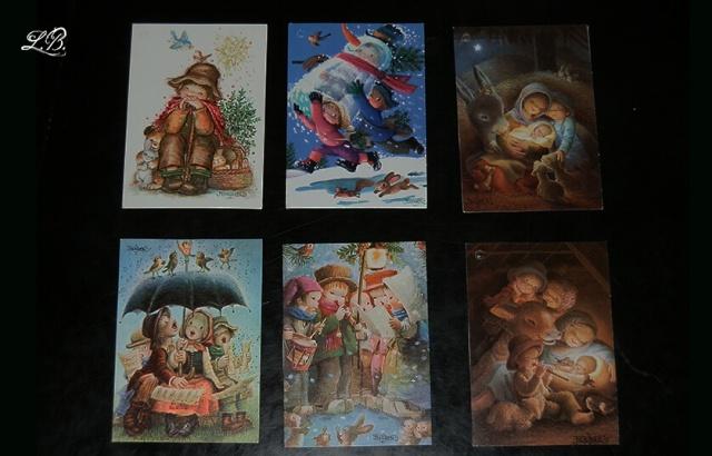Tarjetas navideñas pequeñas Ferrandiz