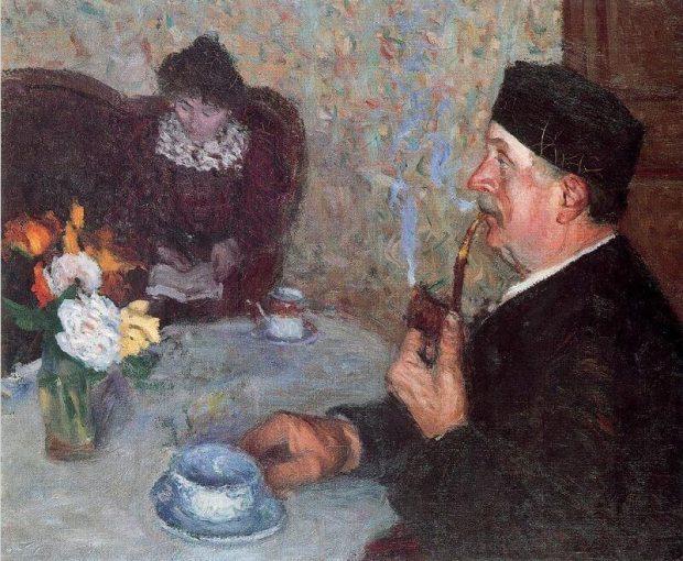 Albert Marquet Retrato del padre y la madre del artista