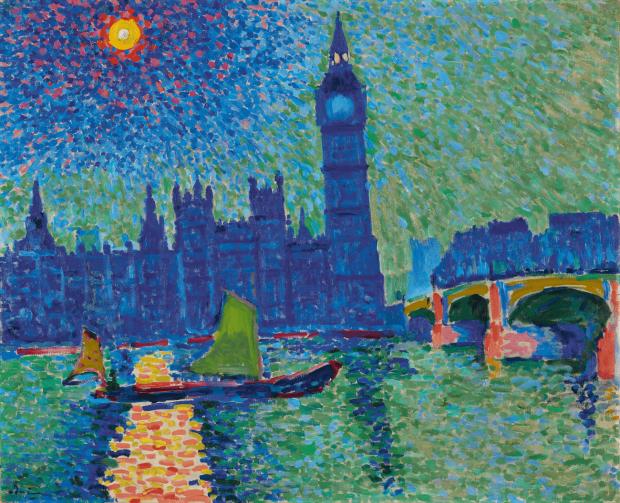 André Derain, Big Ben, Londres, 1906