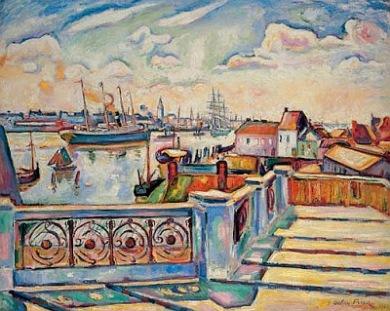 Friesz. El puerto de Amberes. 1906