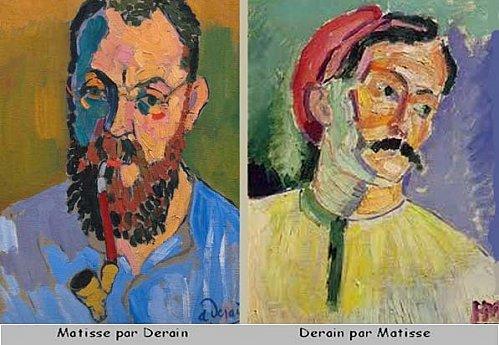 Matisse por Derain y Derain por Matisse 1905