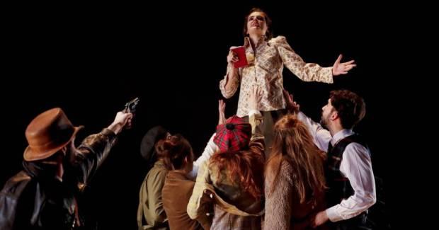 Escena obra de teatro La Isla del Tesoro