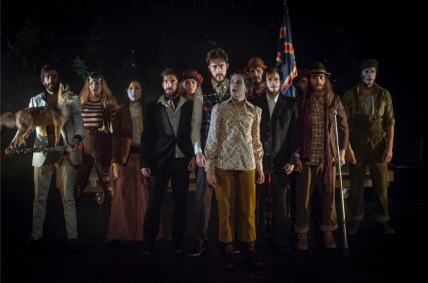 Personajes Teatro La Isla del Tesoro